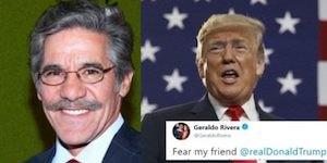 Geraldo and Trump